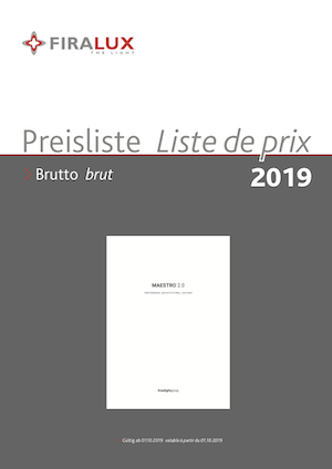 Preisliste Linea Light Group Maestro 2019